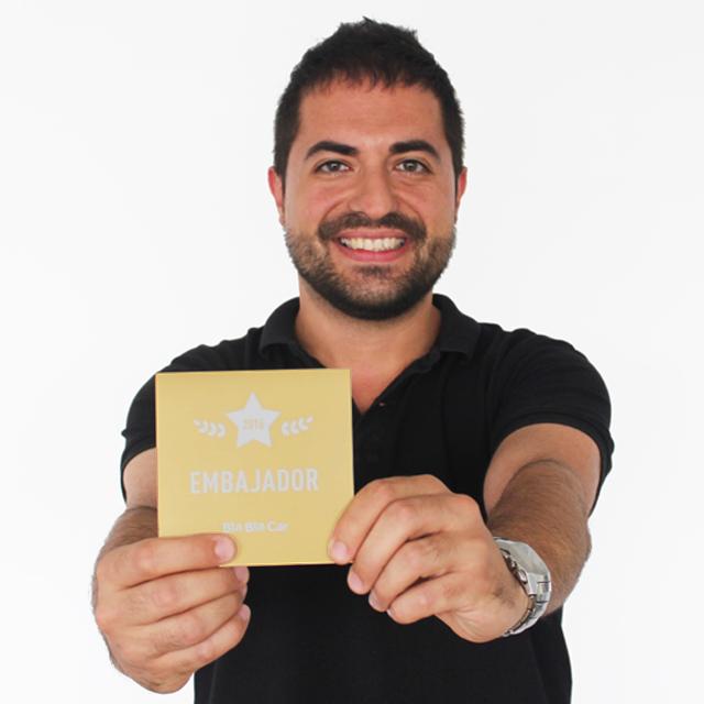 Pedro: 7 años viajando en BlaBlaCar