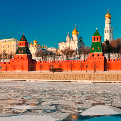 Встречайте новогодние праздники в Москве