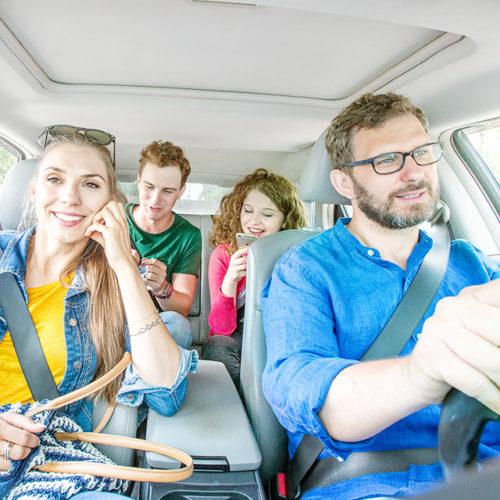 ¿Qué es viajar en coche compartido?
