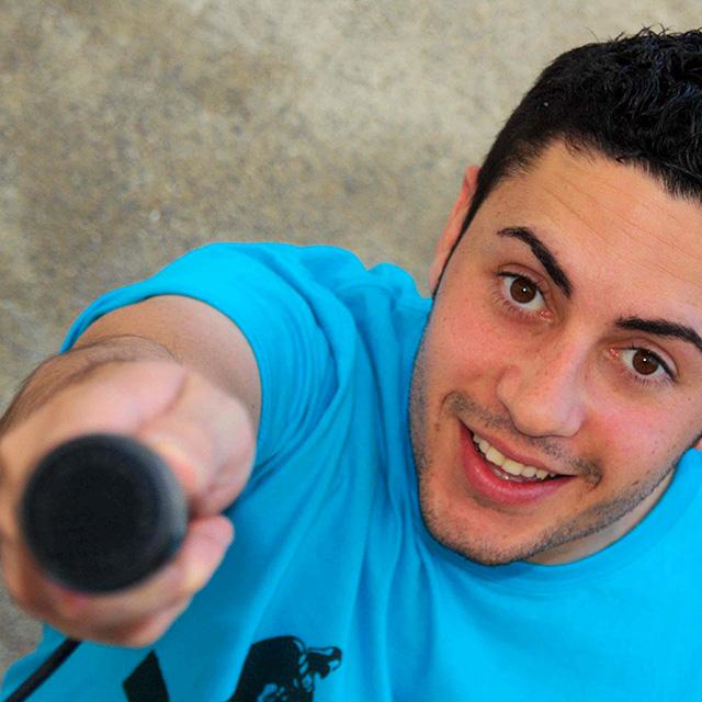 Rafa F. Monologuista y autor de «Viajes con humor»