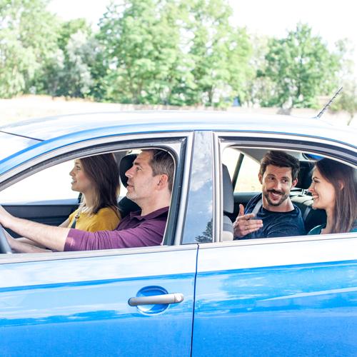 Ce este co-voiajarea (carpooling)?