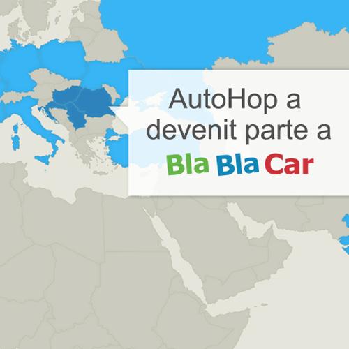 BlaBlaCar acum în România, Serbia, Croația și Ungaria!