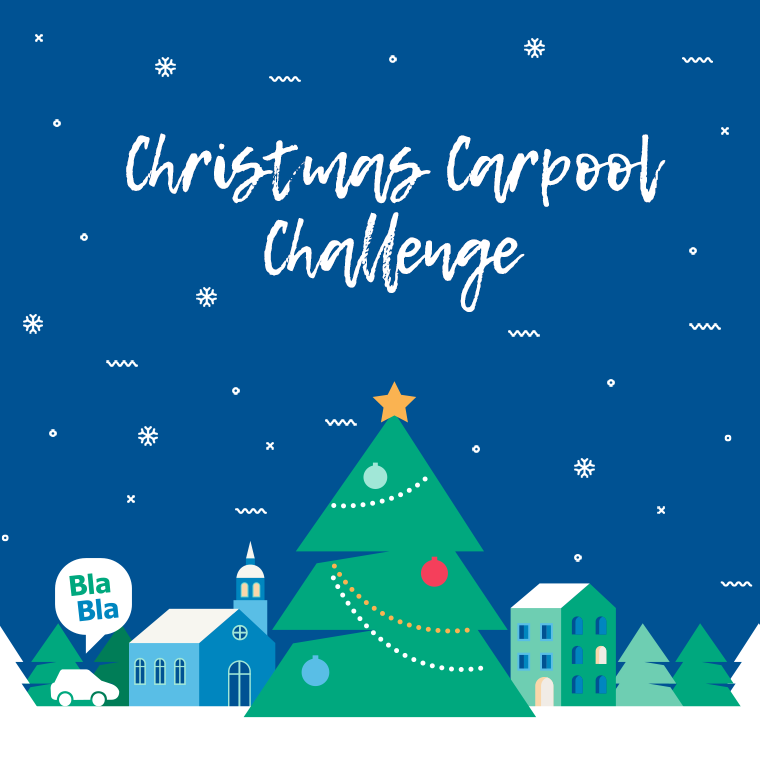 Christmas Challenge voor de carpool community!