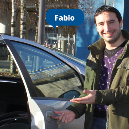 Carpool vanuit Utrecht met ambassadeur Fabio