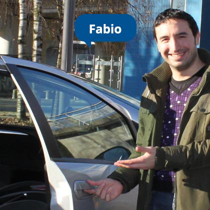 Covoiturez avec Fabio ! Un conducteur attentionné.
