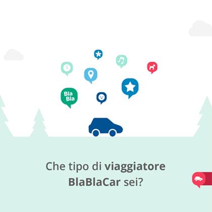 Che tipo di viaggiatore BlaBlaCar sei?
