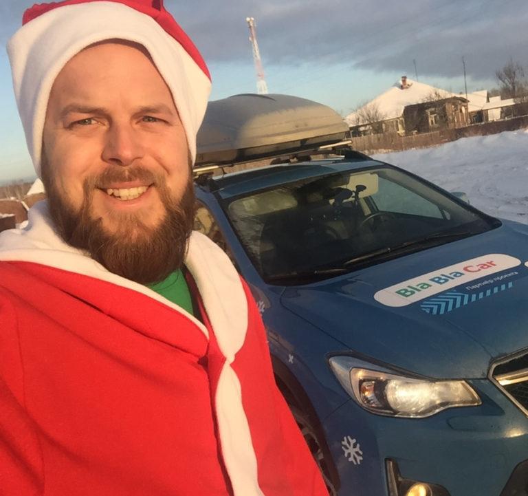 Дед Подвоз путешествует по России с BlaBlaCar