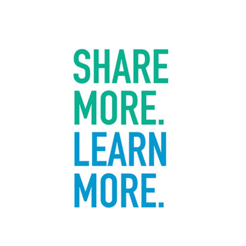 Share More. Learn More.