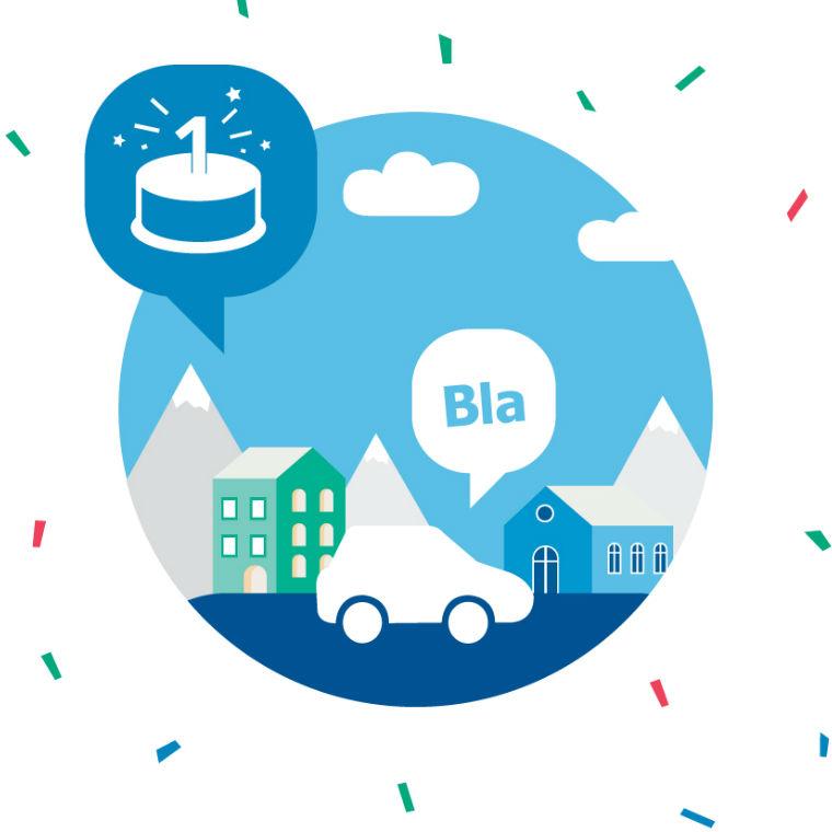 Oslav 1. narozeniny s BlaBlaCarem!