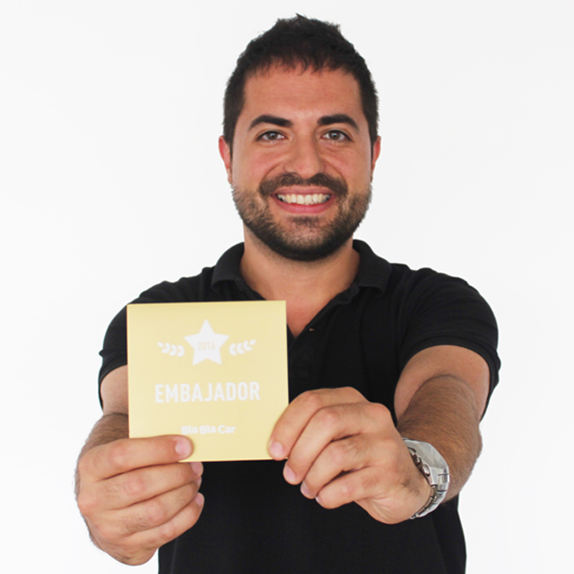 Super member Pedro celebrates 7 years of travelling with BlaBlaCar