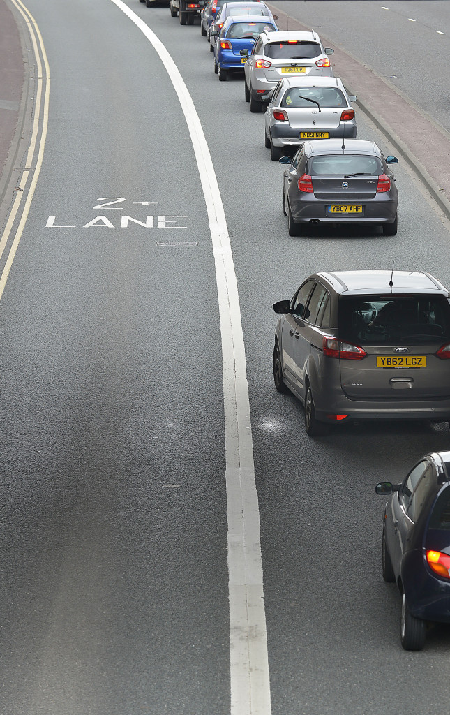 Where are our car sharing lanes?