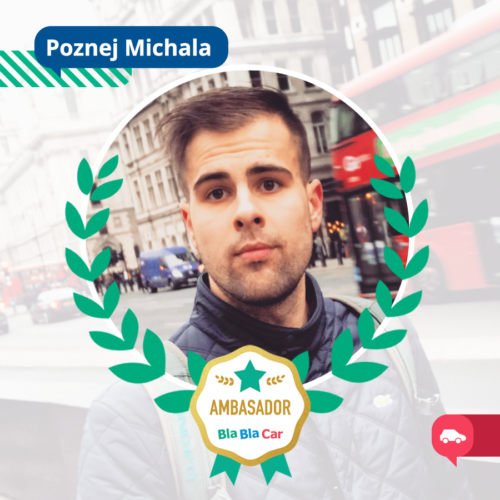 3 otázky pro Michala, ambasadora BlaBlaCaru