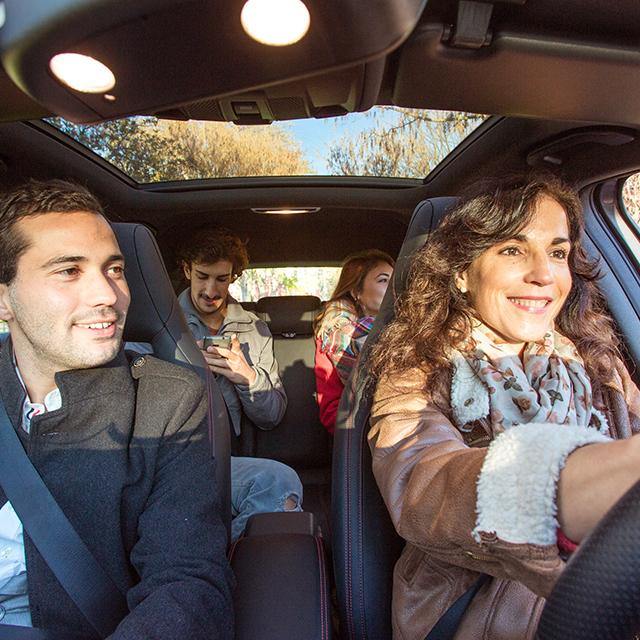 Em que consiste a partilha de carro?