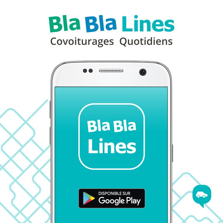 Nouveauté : BlaBlaLines, l'appli des covoiturages quotidiens