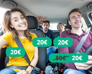 BlaBlaCar: condividi un posto in auto