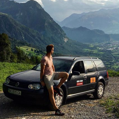 Український блогер Орест Зуб проїхав 8000 км країнами Європи на BlaBlaCar