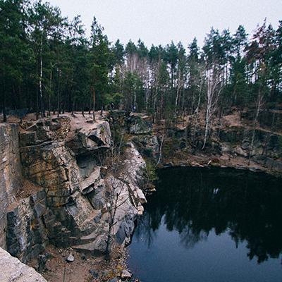 «Гранітний каньйон», що в Коростишеві