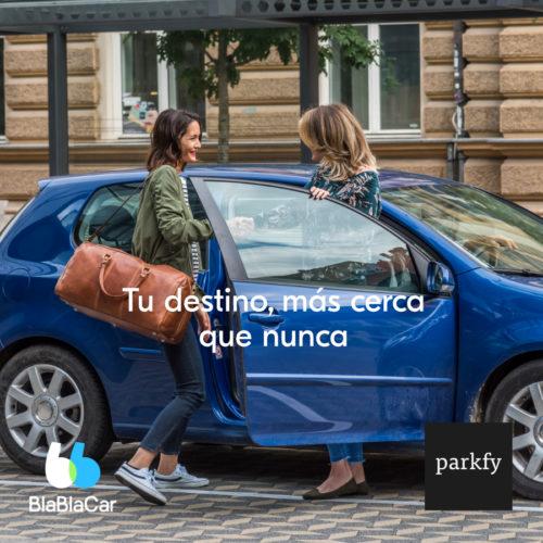 Sorteo Parkfy & BlaBlaCar