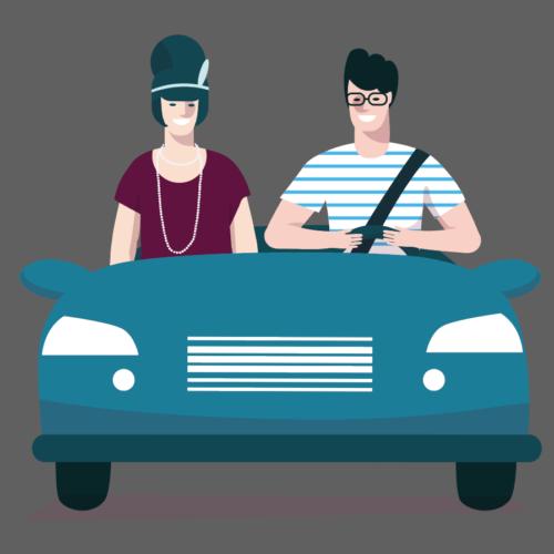 Car pooling ante litteram