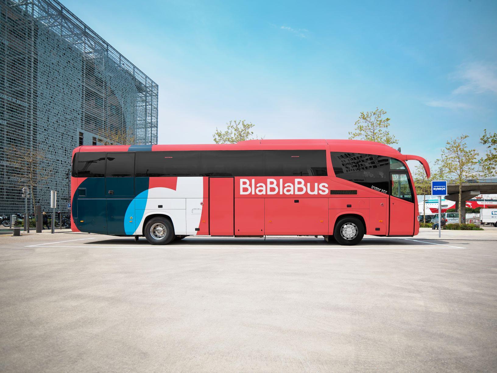 BlaBlaCar lance BlaBlaBus à destination de 45 villes en France