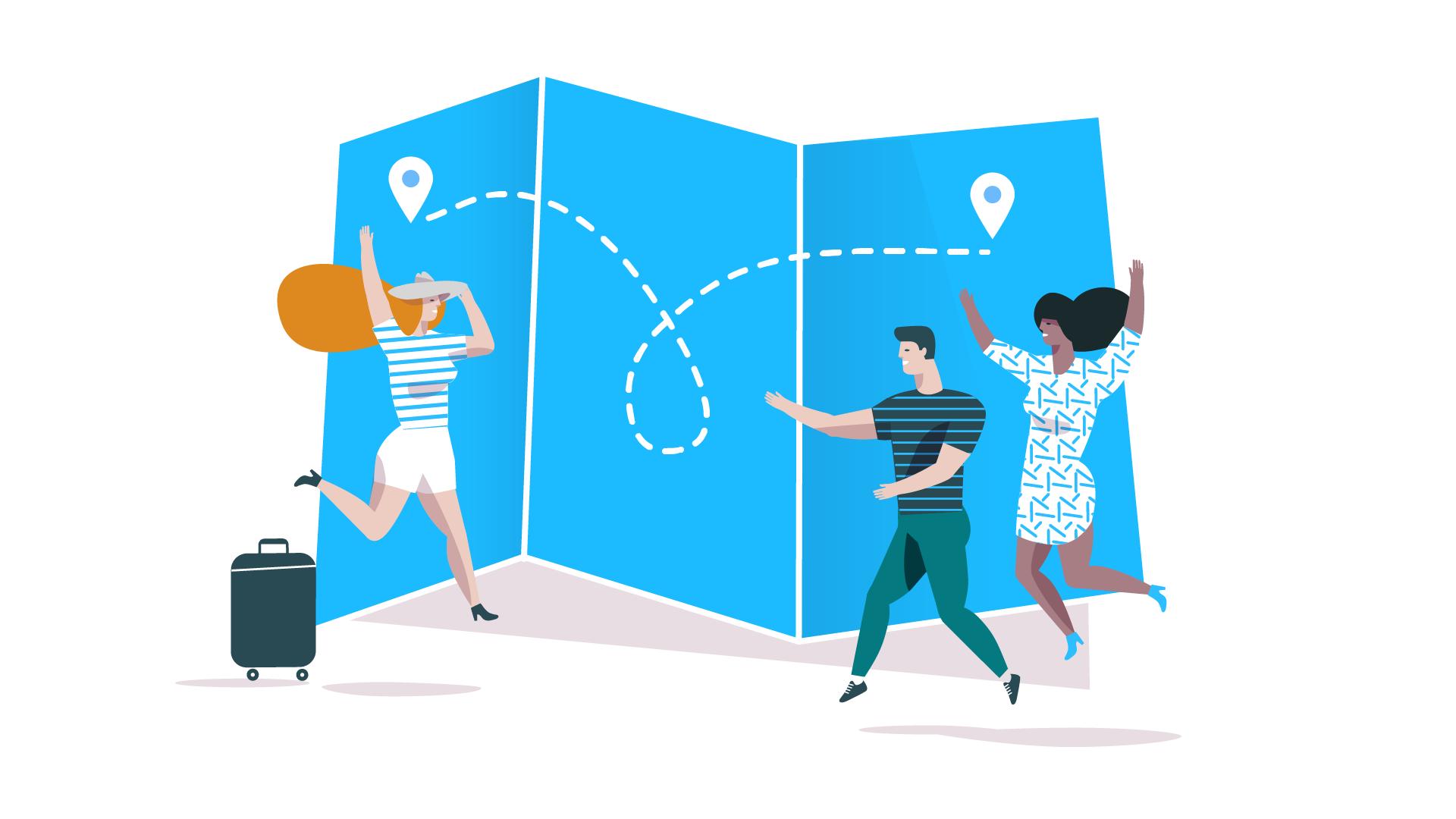 La mitad de las más de 8.000 localidades españolas han tenido conexión directa este verano gracias a BlaBlaCar