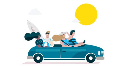 Куди їдуть українці влітку 2020-го: аналітика від BlaBlaCar