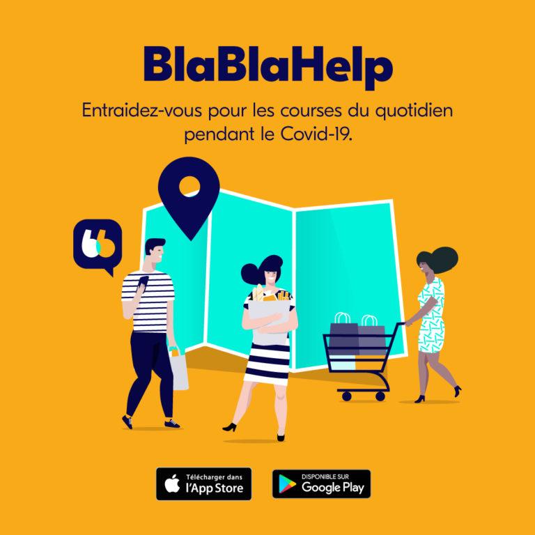 BlaBlaCar lance BlaBlaHelp !