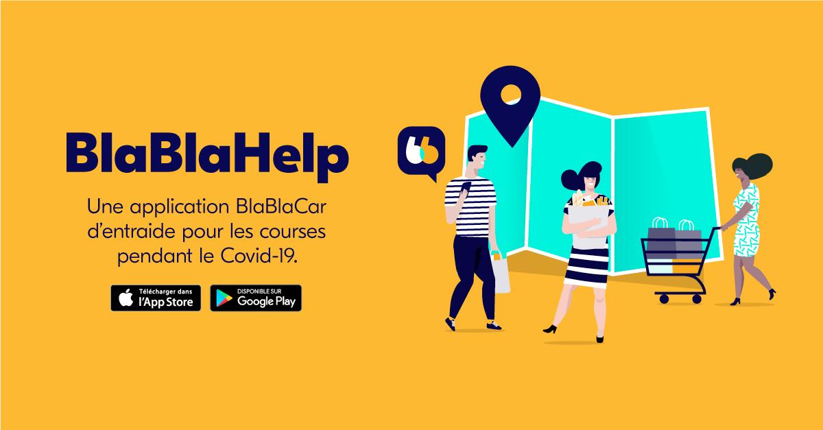 BlaBlaCar crée BlaBlaHelp, une application d'entraide entre voisins