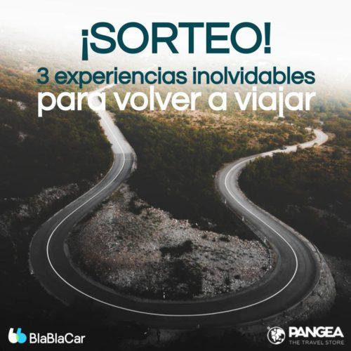 Sorteo Pangea y BlaBlaCar