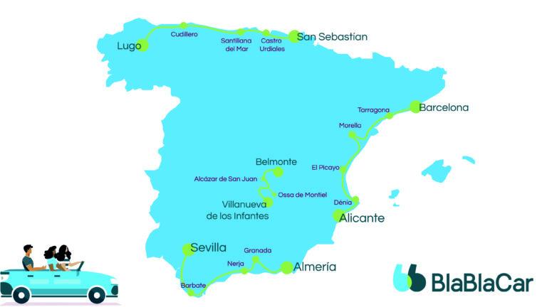 Cuatro road trips imprescindibles para disfrutar este verano por España